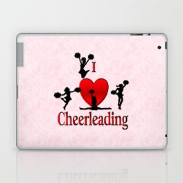 I Heart Cheerleading Laptop & iPad Skin