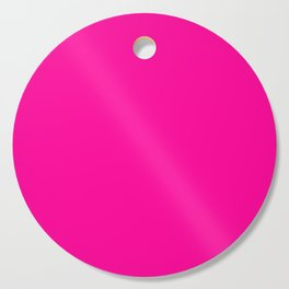 Neon Pink Solid Colour Cutting Board