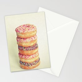 Stack of Donuts Stationery Cards