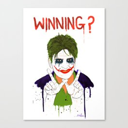 The new joker? Canvas Print
