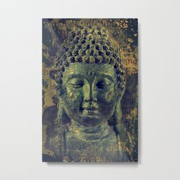 Buddha The End of Suffering Metal Print