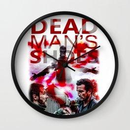 Dead Man's Shoes Print Wall Clock