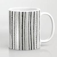 lace Mugs featuring Lace by Anita Ivancenko