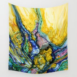 Releasing Temptations Wall Tapestry