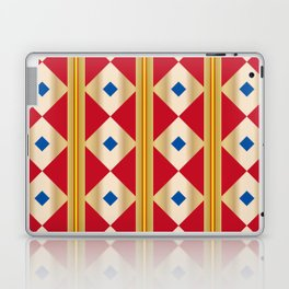 Traditional Japanese patter KUGINUKITSUNAGI Laptop & iPad Skin