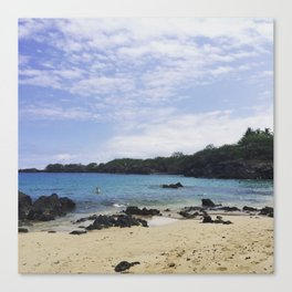 Waialea Beach (Beach 69) Canvas Print