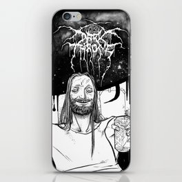 "Fenriz Darkthrone ""make it primitive maaaan"" iPhone Skin"