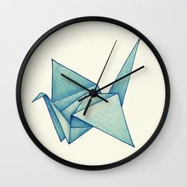 High Hopes | Origami Crane Wall Clock