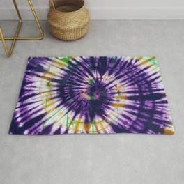 Tie Dye Purple Play Rug