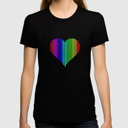 Techno Love Heart T-shirt