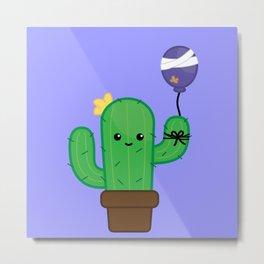 Cactus - Will be Okay Metal Print