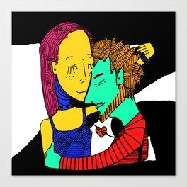 Amor Carnal Canvas Print