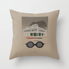 A machine for living in. Throw Pillow