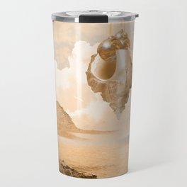 Mission on a far planet Travel Mug