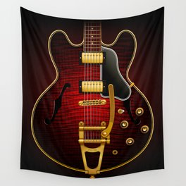 Electric Guitar ES 335 Flamed Maple Wall Tapestry