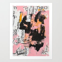 theory behind theory is theory Art Print