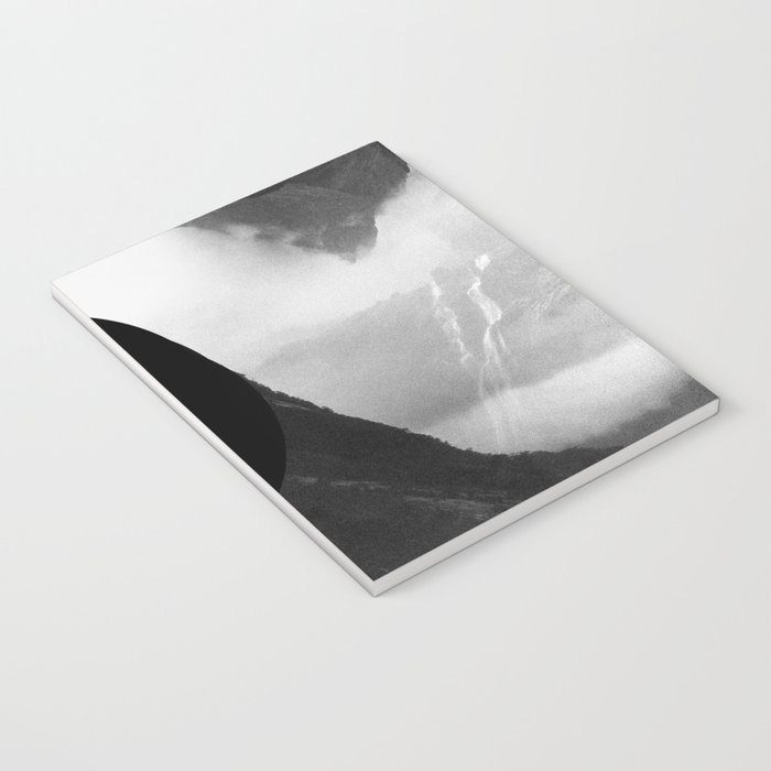 These mountains are mine of clouds Notebook