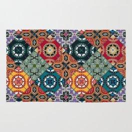 DESEO BOLD spanish tiles Rug