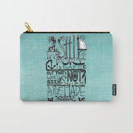 A Ship in Port Carry-All Pouch