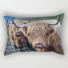 On the hills Rectangular Pillow