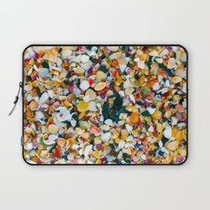 Crushed Sea Shells Laptop Sleeve