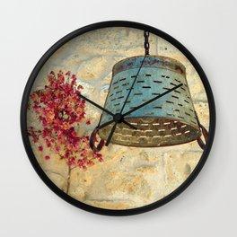 wall art in alacati Wall Clock