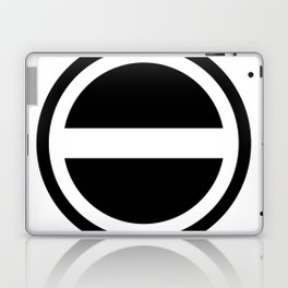 Curtis Holt Logo (Black) Laptop & iPad Skin