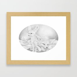 Aetherios   Slumber Framed Art Print