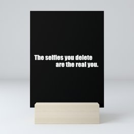 Selfies Mini Art Print