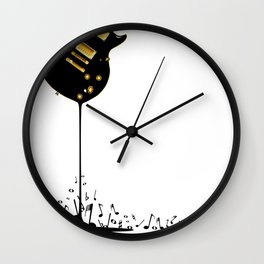 Flowing Music Wall Clock