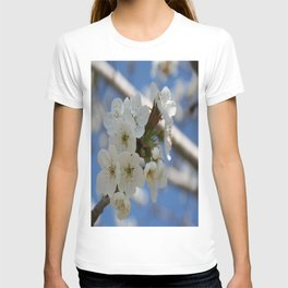Beautiful Delicate Cherry Blossom Flowers T-shirt