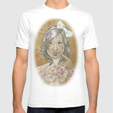 Kawaii Culture MEDIUM White Mens Fitted Tee