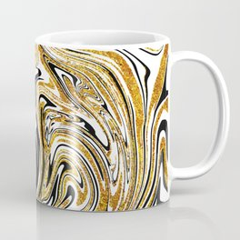 Gold glitter marble Coffee Mug