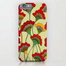 Poppies (warm) iPhone 6s Slim Case