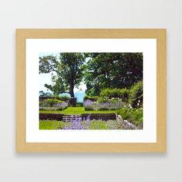 Harkness Memorial Framed Art Print