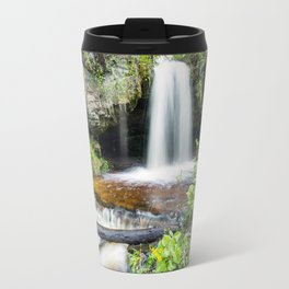 Scott Falls in Spring - Au Train Michigan Travel Mug