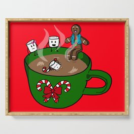 Relaxing Hot Cocoa Serving Tray