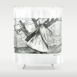 In the moorland Shower Curtain