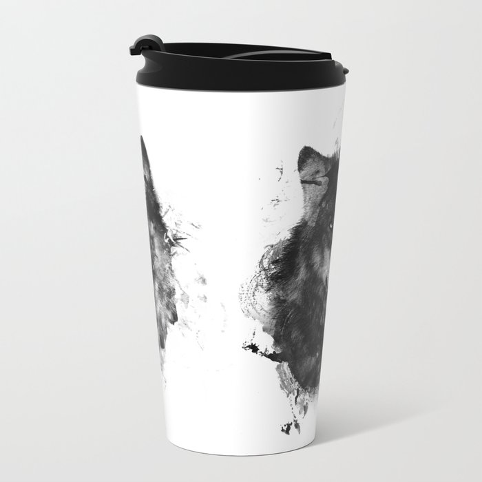 The Wolfpack Metal Travel Mug