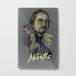 American Hustle Metal Print