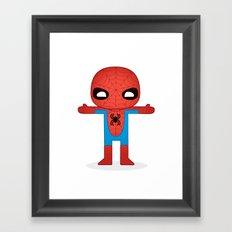 SPIDER MAN ROBOTIC Framed Art Print