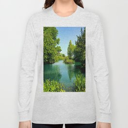 Aqua Lake Long Sleeve T-shirt