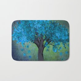 TREE OF BLUE Bath Mat