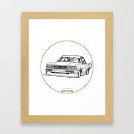 Crazy Car Art 0209 Framed Art Print