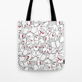 HANDS / pattern pattern Tote Bag