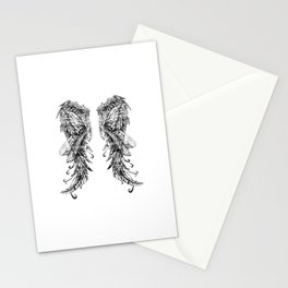 "Collection "" Nightmares"" impression ""Spirit Wings"" Stationery Cards"