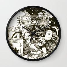 Music Jam Wall Clock