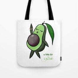 A Little Bit Extra Tote Bag
