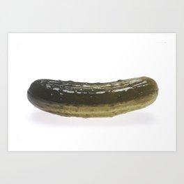 Dill Pickle Art Print
