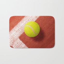 BALLS / Tennis (Clay Court) Bath Mat